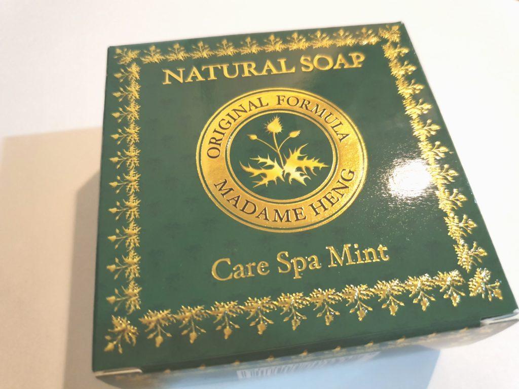 緑のマダムヘン石鹸