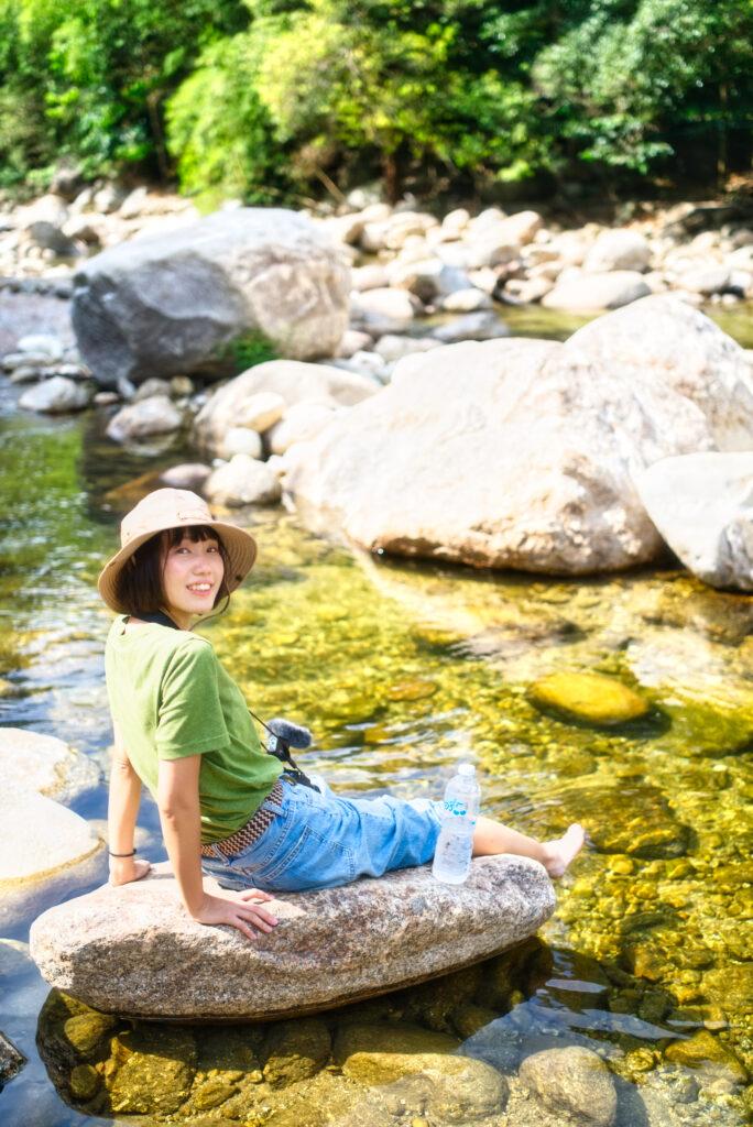 キリウォン村の川